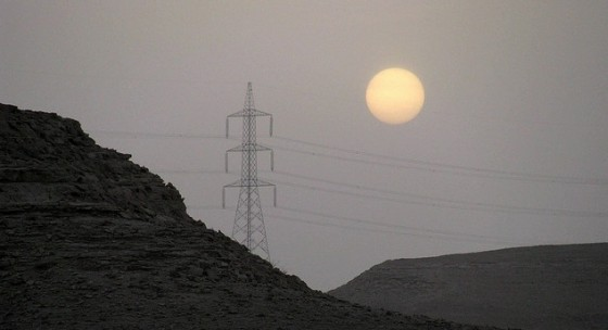 saudi arabia summer hydro electric lines