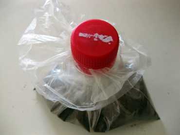 Make a Spout for a Bag of Spice Using an Old Bottle