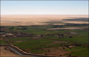 Earthmisting Irrigation May be Plausible Solution to Middle East Agriculture
