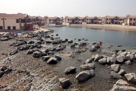 More Signs Of Dubai's Foul Ecology At Jumeirah Islands