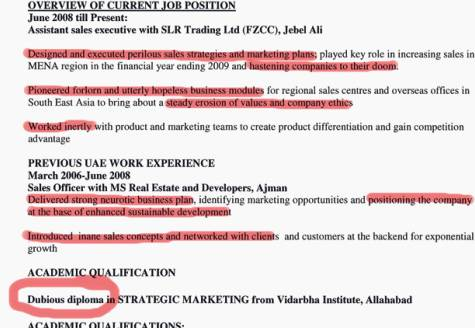 Bogus Job Offers For Elephant Trainers And Graphic Designers Green Prophet  Him Operations Manager Resume
