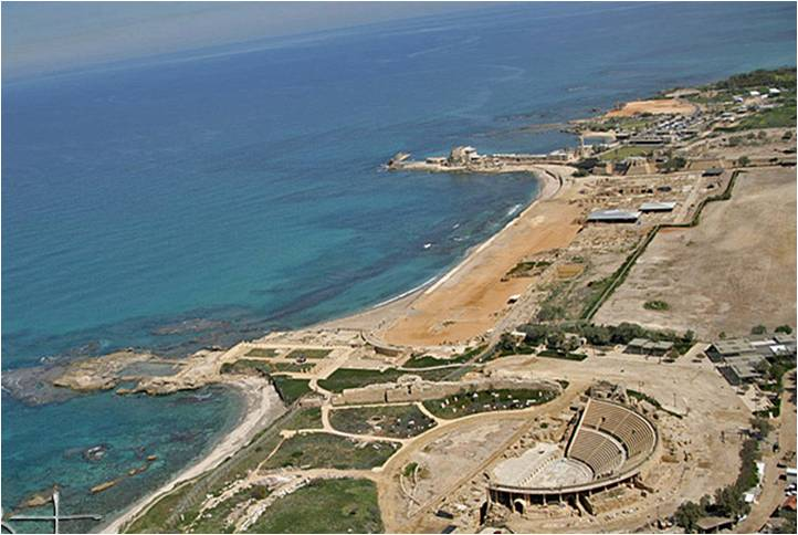 Ancient Caesarea Needs Every Grain of Sand