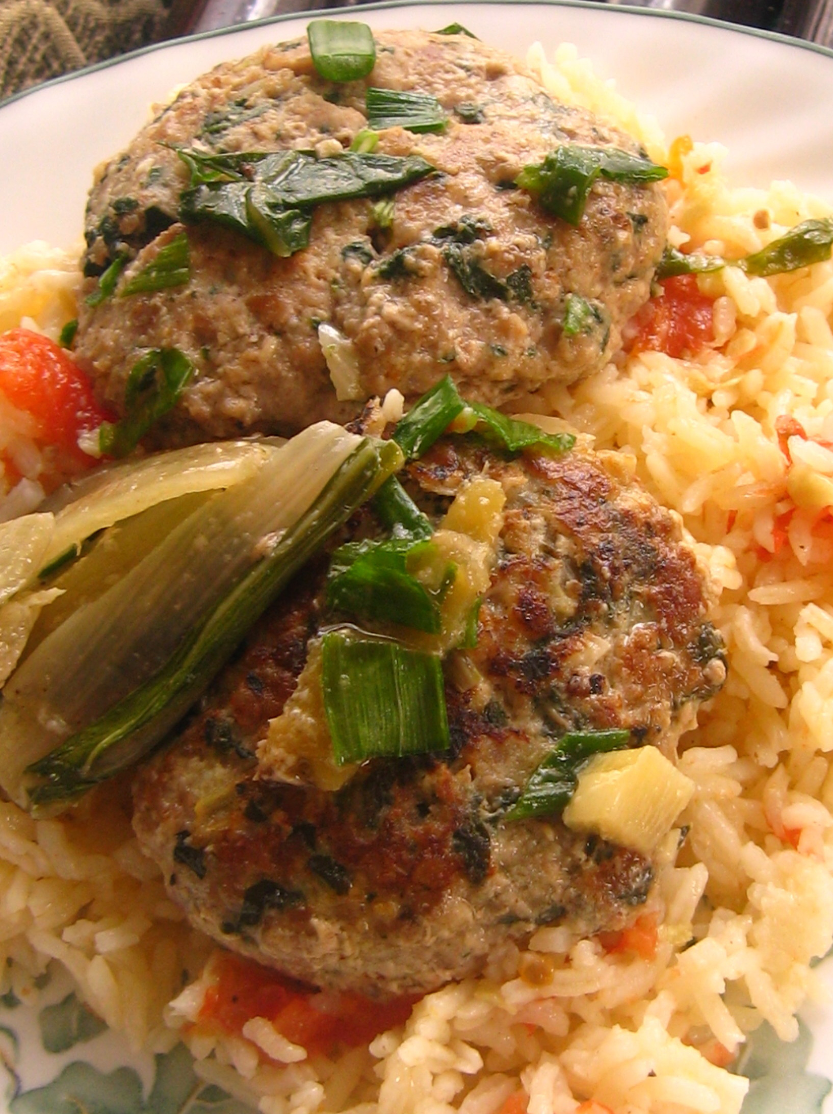 RECIPE: Turkish Meatballs And Swiss Chard