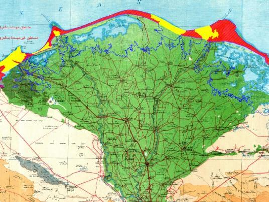 Arab World And Med Region More Vulnerable To Climate Change - Map of egypt delta region