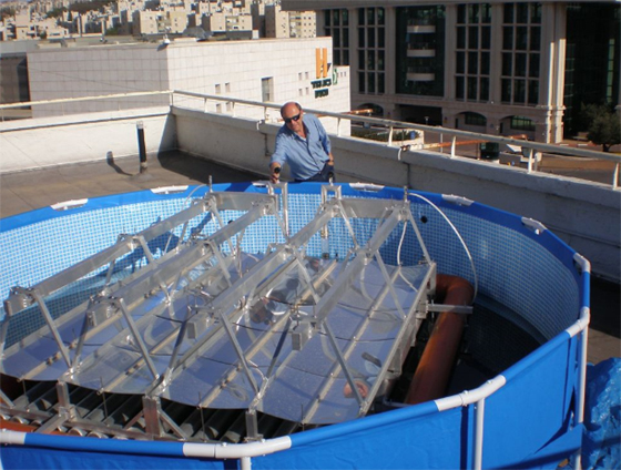 Float Solar on Water Says Israel's Solaris Synergy