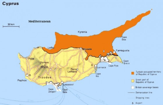 Turkey to Pipe Fresh Water to Northern Cyprus Undersea A World