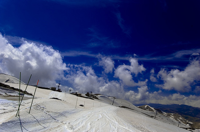 Put Away Your Snowboard. Lebanon's Slopes Are Melting