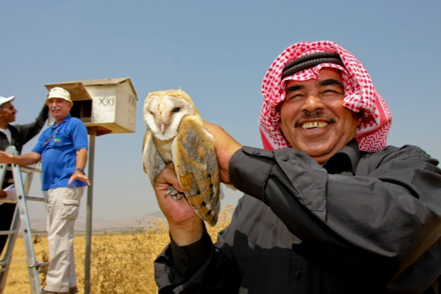 Birds Help Israel, Jordan And Palestine Flock Together