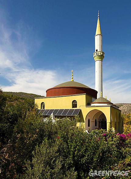 green mosque turkey