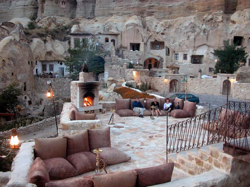 Stay Cool In Turkey's 5 Star Underground Yunak Evleri Hotel