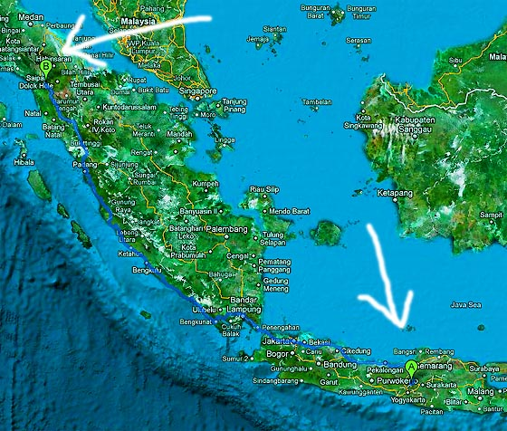 ormat geothermal indonesia map earthquake