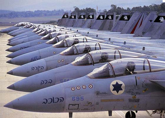 israel fighter jets