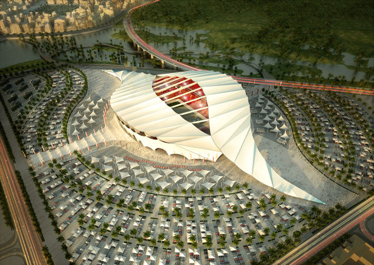 SLIDESHOW: Entries for Qatar's 2022 World Cup Stadiums