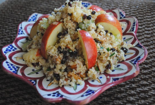 Recipe: Have a Tasty Tu B'Shvat with Bulgur Salad
