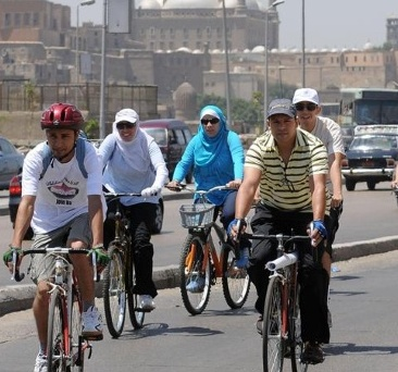 "Time For A Cycling Revolution and ""Critical Mass"" In Cairo"