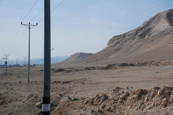 israel power lines photo