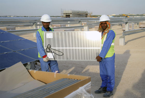 Masdar Calls for Bids For A Second 100 MW Solar Project
