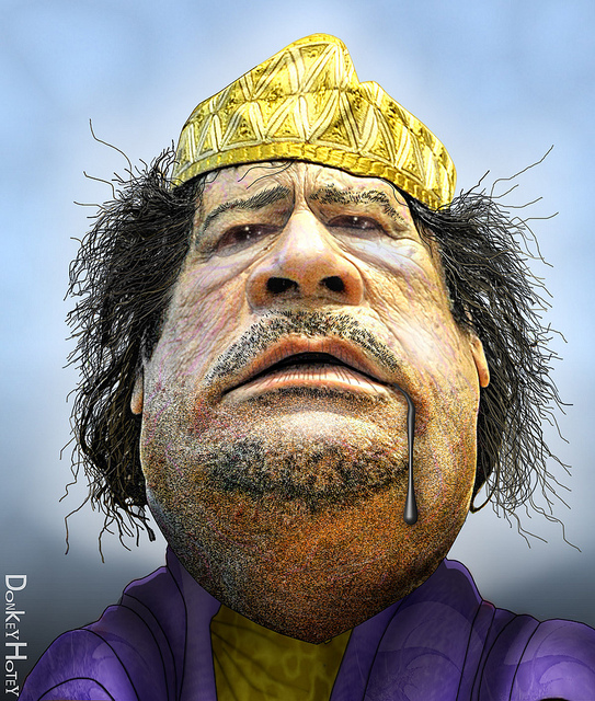 Gaddafi Promises Long War, Oil Up To $103 Per Barrel