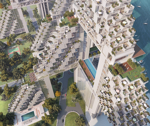 Moshe Safdie Goes To China