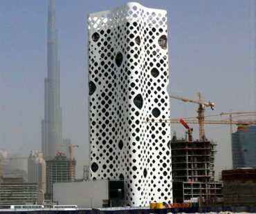 """After Four Years, Dubai's """"Holey"""" O-14 Tower Finally Opens"""