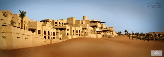 Dubarch, empty quarter desert, abu dhabi, 5 star resort, architecture