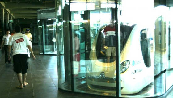 masdar city, abu dhabi, green building, desert, zero carbon, pod car
