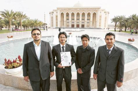 american university of sharjah students