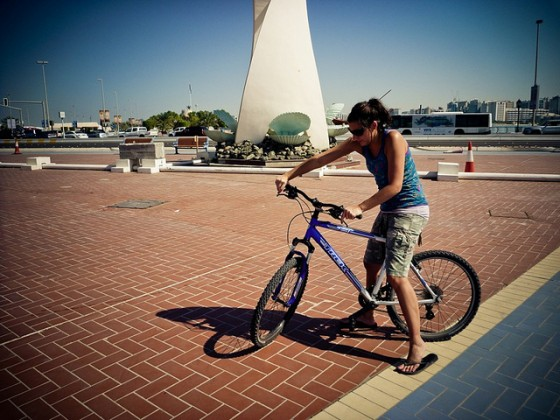 abu dhabi, cycling, uae, bicycle
