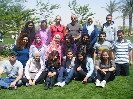 american university cairo, slides, green building, egypt, solar house