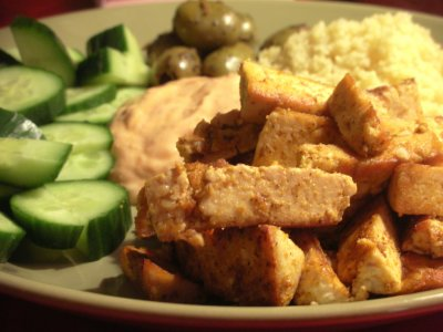 RECIPE: Za'atar-Flavored Tofu