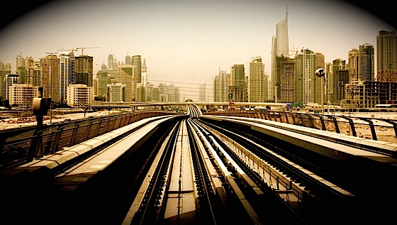 dubai, metro, city, buildings