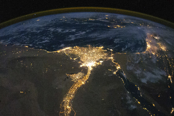 egypt at night image