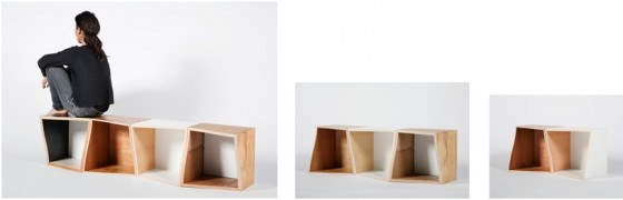 """frank recycled cube furniture"""