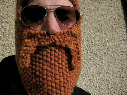 knitted muslim beard