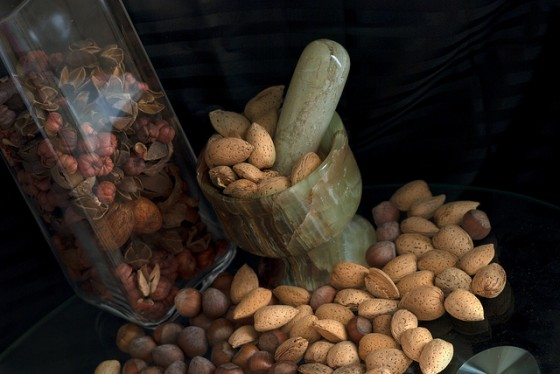 nuts, climate change, reduced crop production, greenhouse gas emissions