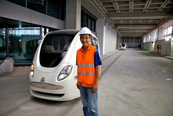 masdar city, pod car, 2getthere