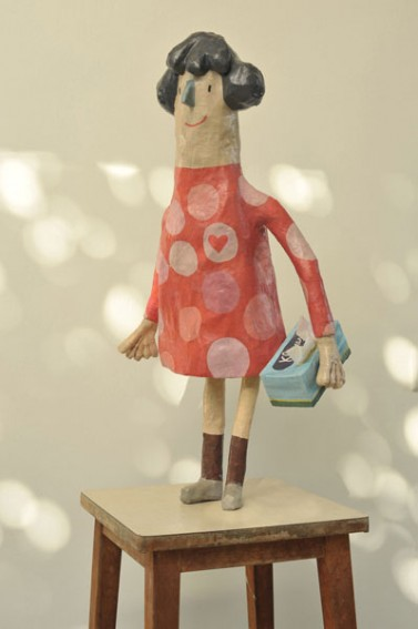 """""""recycled paper toy"""""""