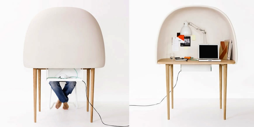 Rewrite's Soft and Cozy Study Bubble by GamFratesi