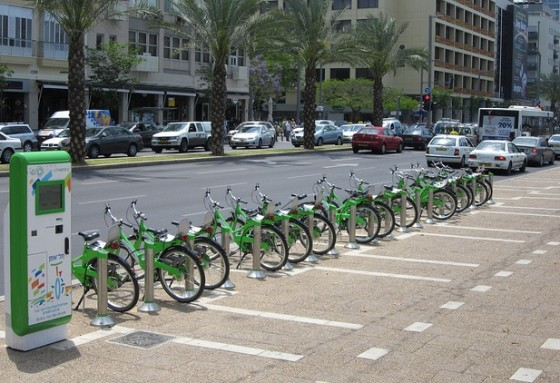 tel aviv bike sharing tel-o-fun