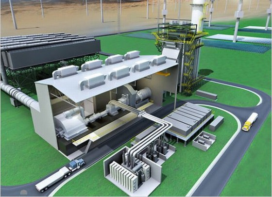 World S First Integrated Renewables Combined Cycle Power