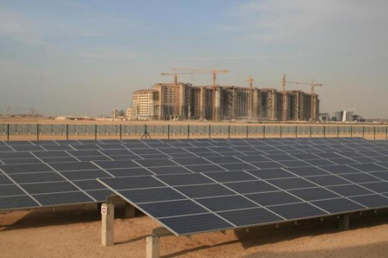 masdar solar power plant