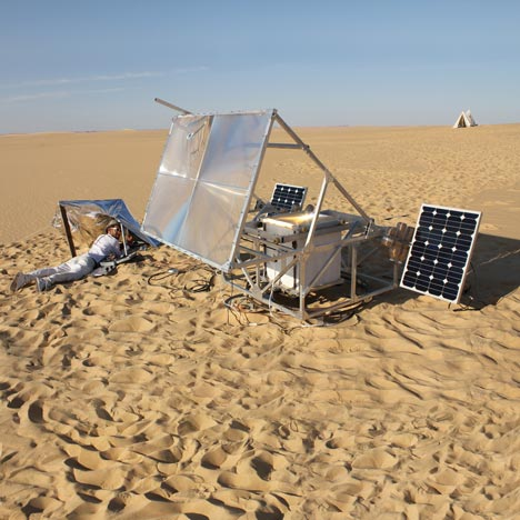 sahara desert, sustainable design, green design, solar energy