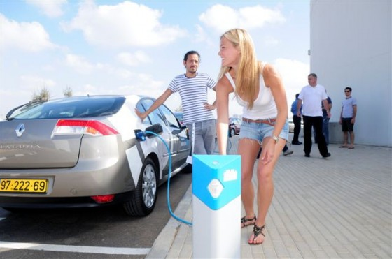 Electric Vehicles, Israel, Better Place, Greenhouse Gas Emissions