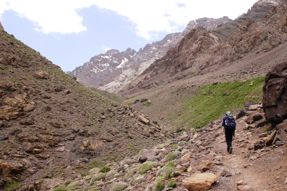 eco-tourism, trekking, Morocco, Atlas Mountains