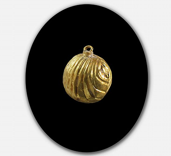 Golden bell pomegranate from King Solomon's temple unearthed