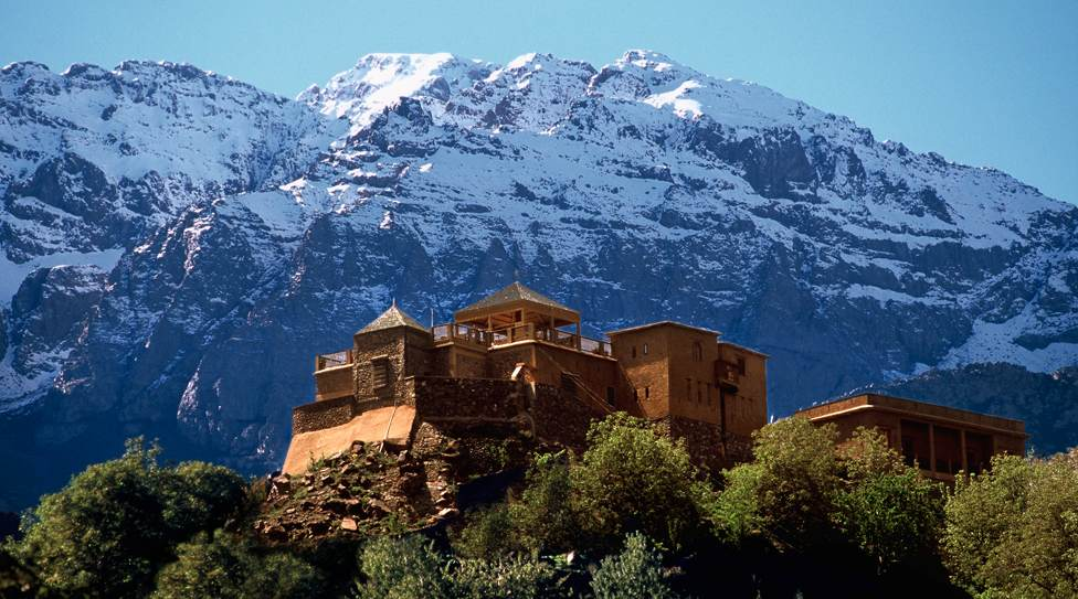 "Rocking the ""Eco"" Kasbah du Toubkal in Morocco"