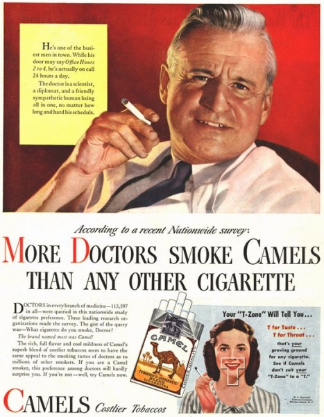 meat glue image-early-cigarette-ad
