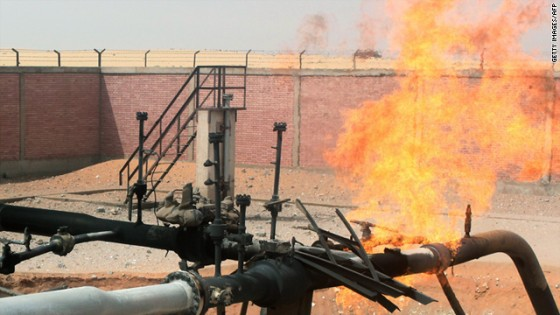natural gas pipeline egypt