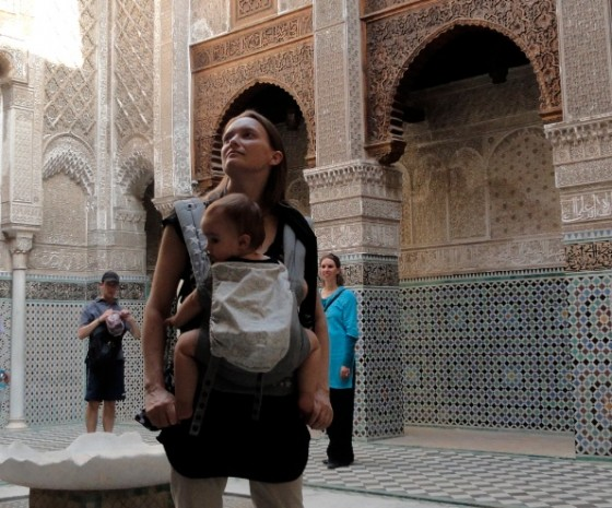 travel light with baby morocco
