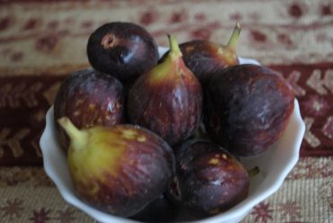Figs and August seasonal cooking in the Middle East